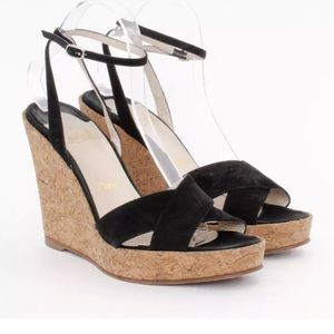 Christian Louboutin Wedge Sandals 39.5